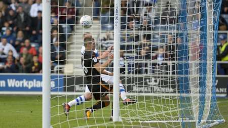 Washington puts QPR 1-0 up in the 41st minute