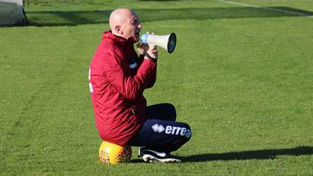 Ian Holloway gets his instructions across in a unusual fashion