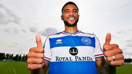 Thumbs up from the R's newest recruit - Nahki Wells