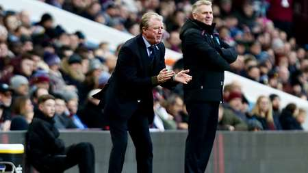 Steve McClaren urges his side on