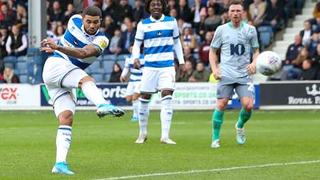 Back of the net! Nahki Wells fires QPR into the lead!