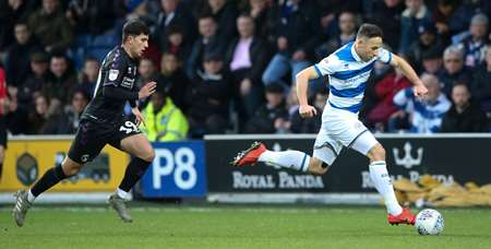 Marc Pugh scampers down the wing for Rangers