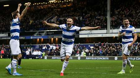Pughy! Our experienced wide-man celebrates making it 2-1