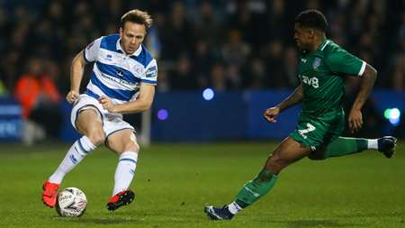 Todd Kane forces winger Kadeem Harris to do some defending