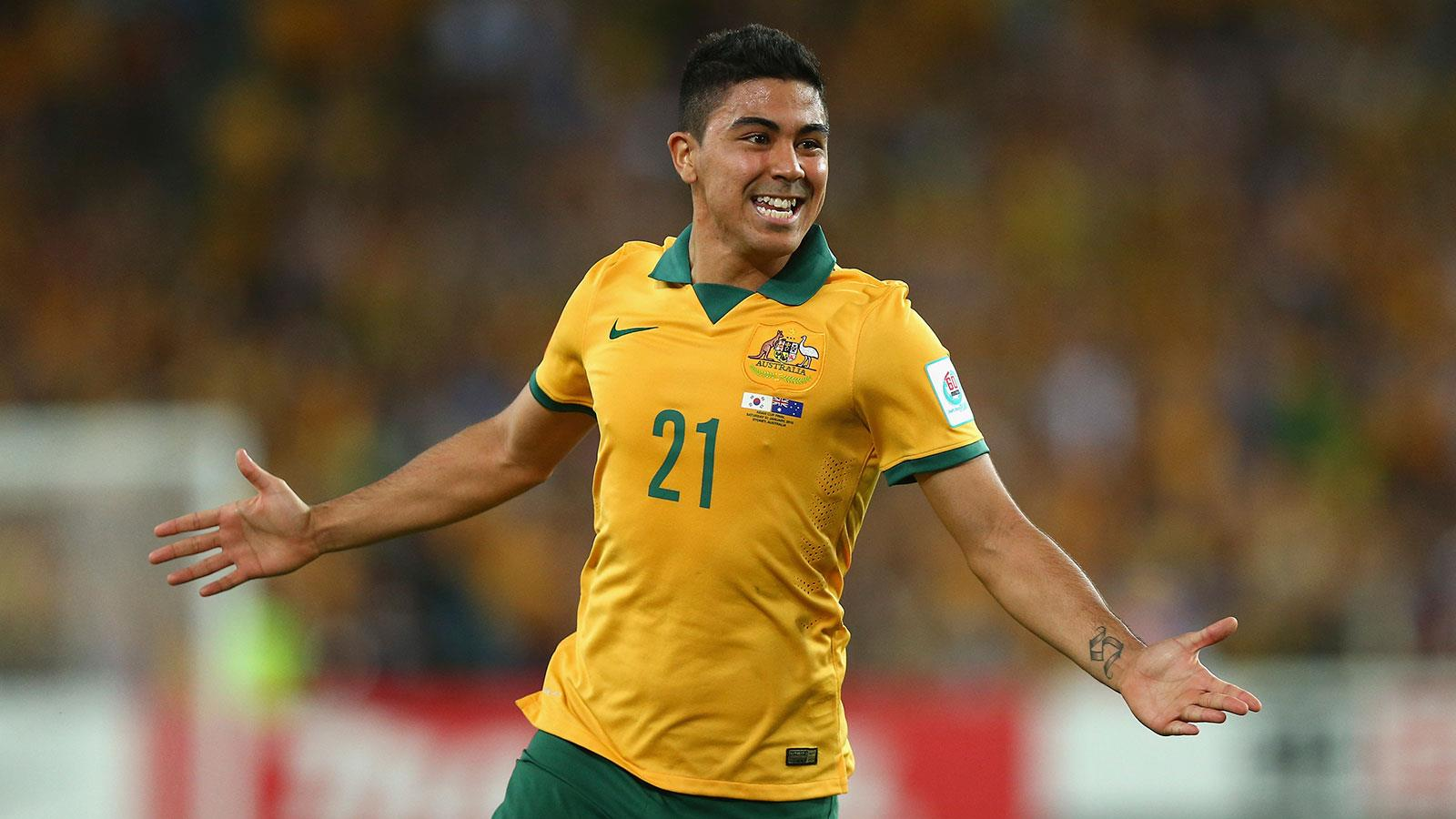 Image result for massimo luongo australia