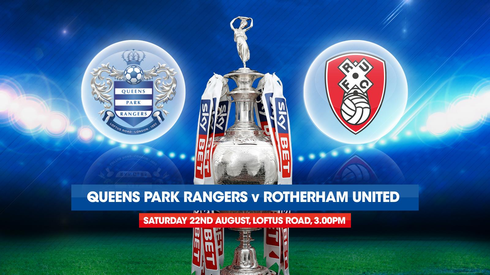 Image result for Queens Park Rangers vs Rotherham United
