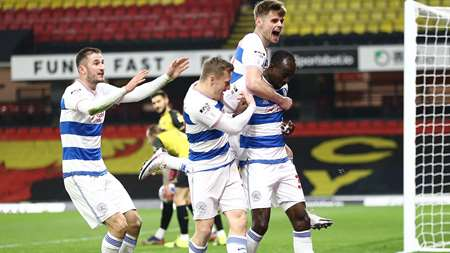 What a time to bag your first QPR goal!
